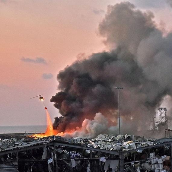 Dons pour Beyrouth - explosions du 4 août 2020